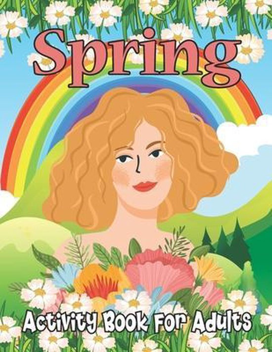 Spring Activity Book for Adults