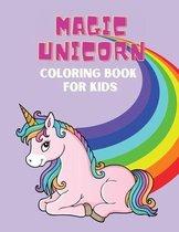 Magic Unicorn Coloring book