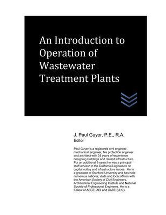 An Introduction to Operation of Wastewater Treatment Plants