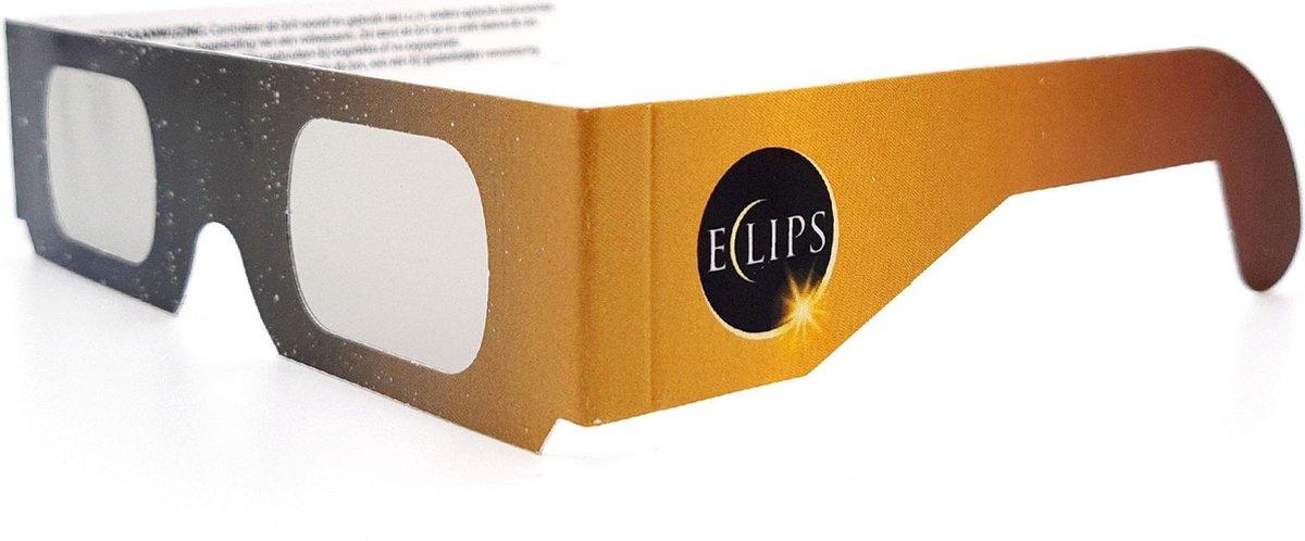 Eclipsbril - bril voor zonsverduistering - per stuk