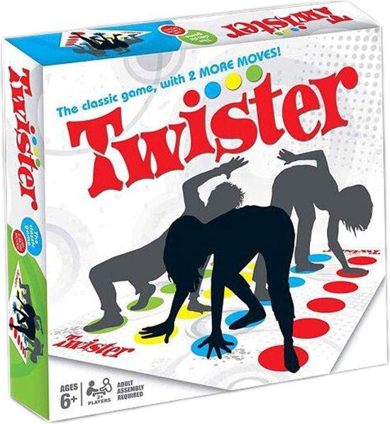 Twister-spel, behendigheidsspel voor kinderen en volwassenen, picknickfeesten, buitensportspeelgoed, familiebijeenkomsten voor volwassenen, familiespel, gezelschapsspel, leuk spel voor verjaardagen van kinderen, 2-4 personen, vanaf 6 jaar