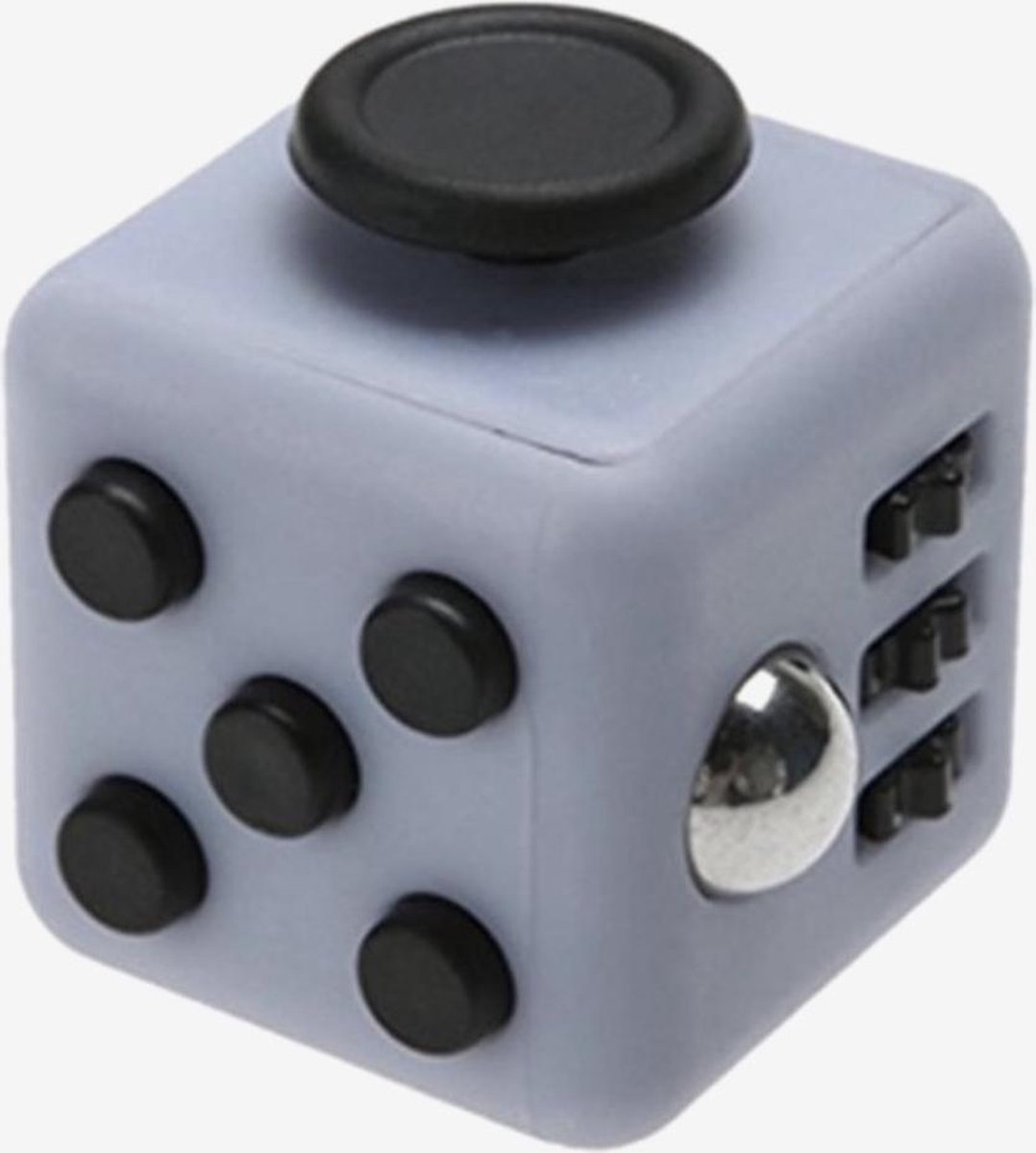 Fidget Cube tegen Stress - Fidget Toys - Speelgoed - Grijs/zwart