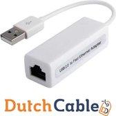Dutch Cable USB 2.0 Naar Ethernet Adapter (RJ45) - 10/100Mbps
