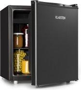 Klarstein Obsidian Minibar koelkast 48 liter -  3 liter vriesvak - Thermostaat met 7 standen - 41 dB