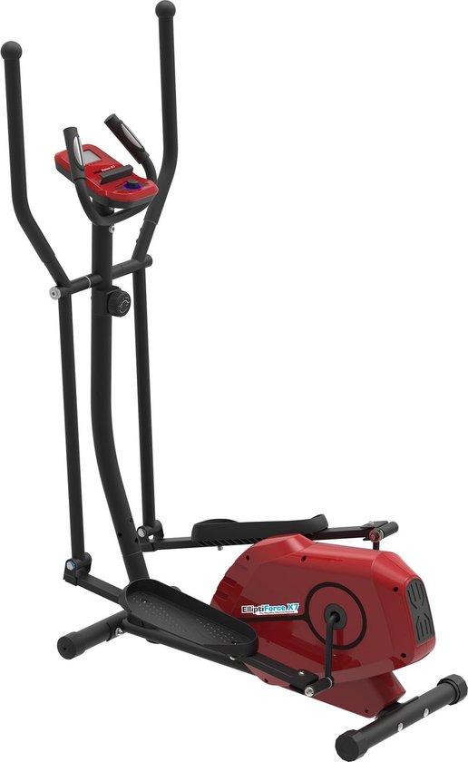 SportTronic ST-X7 Crosstrainer – Fitness Hometrainer – Zwart/Rood