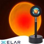 Tiktok Lamp - Sunset lamp - Sunset projection lamp - studio lamp - golden hour lamp - solar lamp - zonnelamp -zonlicht lamp
