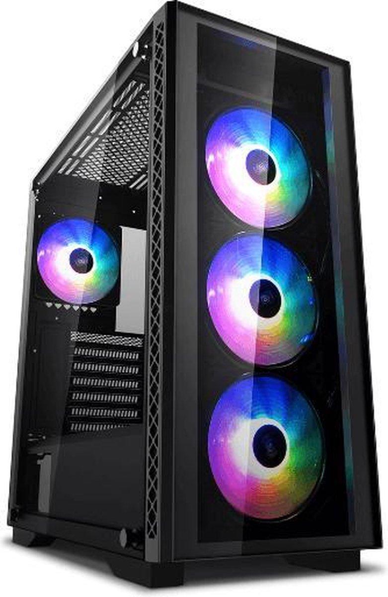 WARRIOR Game PC Ryzen 5 3600, GeForce GTX1650 Super, 16GB, 256GB NVME SSD, 1TB HDD