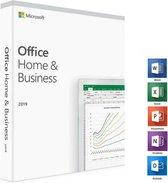 Microsoft Office 2019 Home & Business - MacOS (in doos)