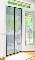 Magnetisch Horgordijn Zwart Vliegengordijn deur - 100 x 230 cm