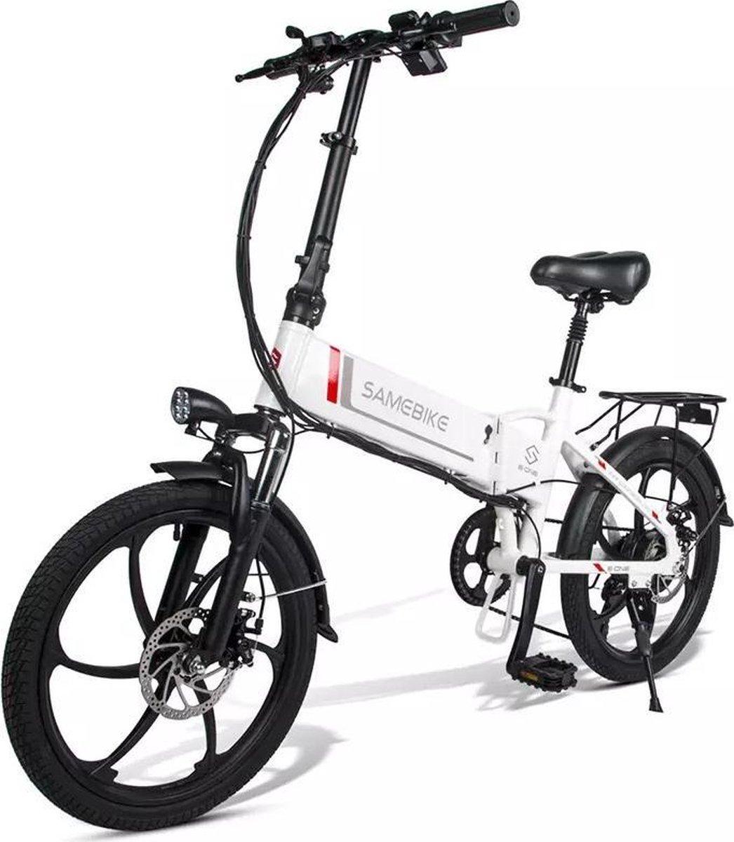 Matrix E Bike - Samebike Elektrische vouwfiet - Shimano 7 speed derailleur - 48V/8Ah lithium batteri