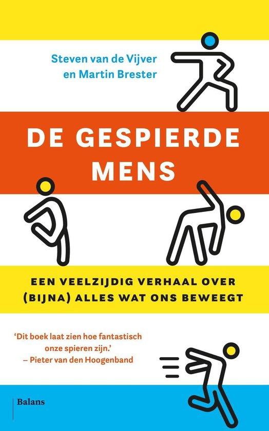 Boek cover De gespierde mens van Steven van de Vijver (Onbekend)