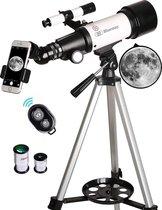 Bluemay Telescoop - Travel Bag - Draadloze Camera - Sterrenkijker-Telefoon Adapter