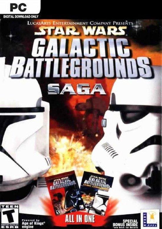 Star Wars, Galactic Battlegrounds Saga + Clone Campaigns
