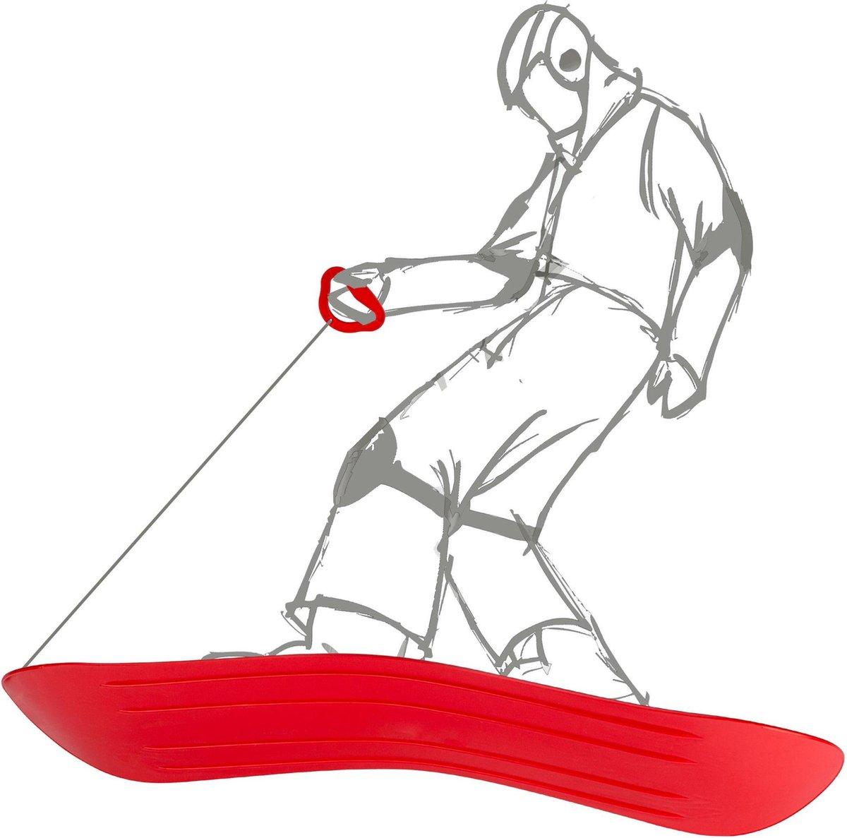 Nijdam slideboard - Slee - Geel