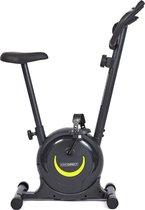 KIMO DIRECT Hometrainer - Verstelbare Weerstand - Hometrainer Fiets - Spinningfiets - 5 Zithoogten - Met Tablet Houder - Zwart