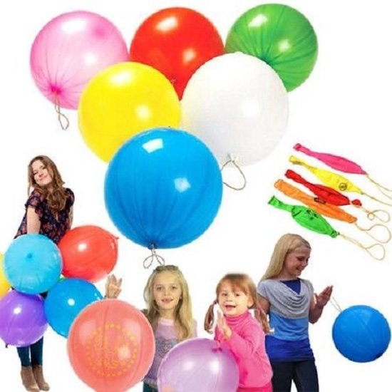 Boks Ballon - Punch ballon - Boksballon - Bounce Ballon - Ballon - 18 Stuks - Rapidmeteor®