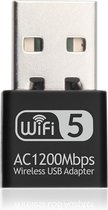 Wifi adapter USB - Dual band - 1200Mbps - Realtek chip - 2.4GHz & 5Ghz