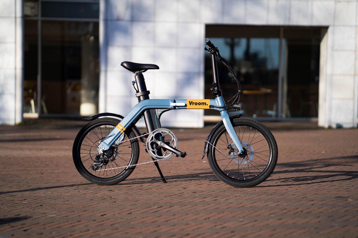 Vroom X - Elektrische vouwfiets - Opvouwbare e-bike - Sun Yellow