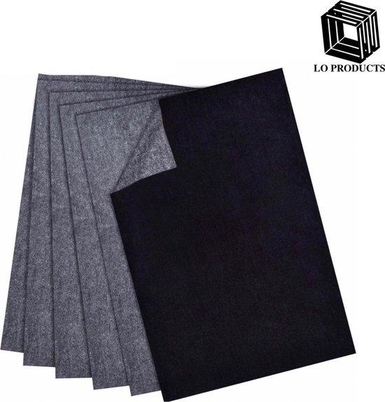 Afbeelding van LO Products- 10x Carbonpapier- Transferpapier- Overtrekpapier- Hobbypapier- Tekenen- Kunst- Hobby-10 stuks- A4 formaat speelgoed