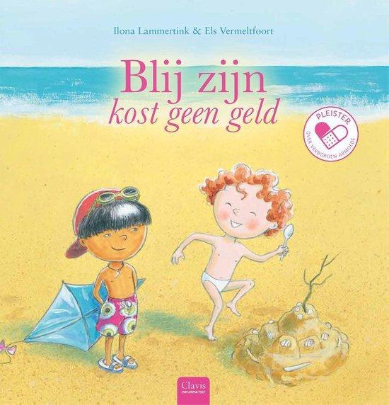 Boek cover Pleister 0 -   Blij zijn kost geen geld (over verborgen armoede) van Ilona Lammertink (Hardcover)