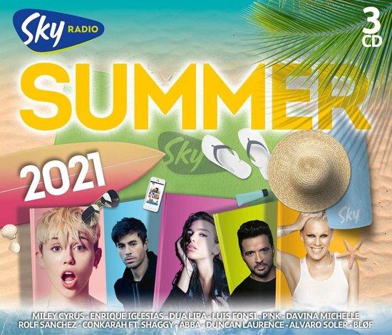 CD cover van Sky Radio Summer 2021 van Sky Radio