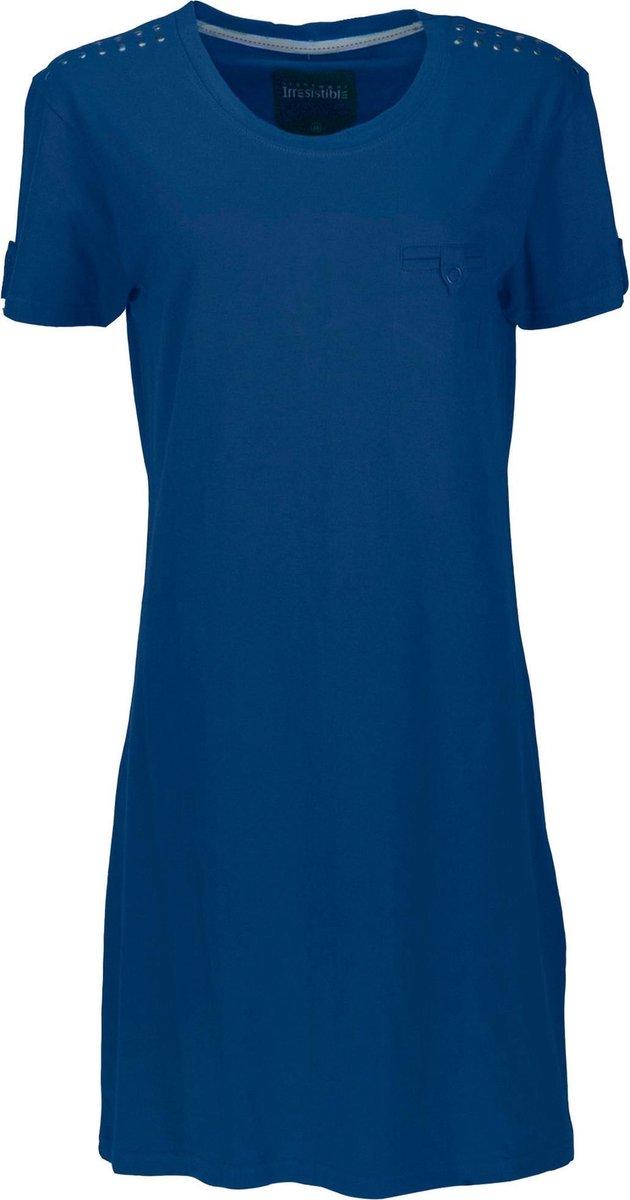 Irresistible Dames Nachthemd Blauw IRNGD1204C Maten: M