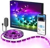 Bluetooth Smart Led strip - 5 meter - Waterdicht - incl. Afstandsbediening & App - Zelfklevend