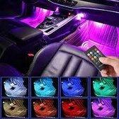 Autoverlichting Interieur met Afstandbediening   Ledstrips   Auto   Binnen Verlichting Auto   RGB Binnenverlichting LED Strips   Sfeerverlichting