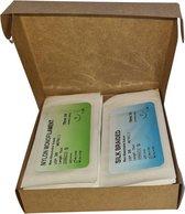 Hechtdraad - hechtmateriaal - nylon en zijden hechtdraden - geneeskunde hechtset draden - 24 stuks - monofilamenten & multifilamenten