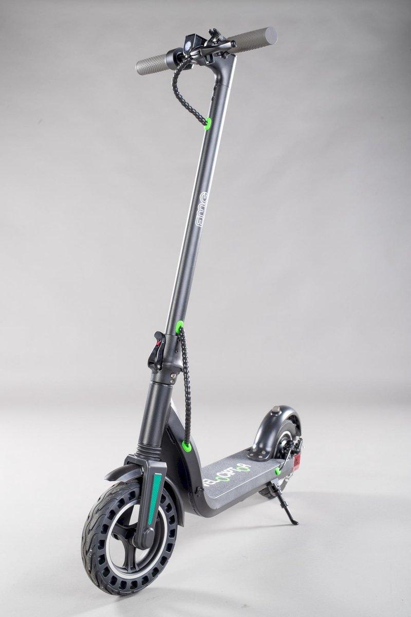 """Trevi Velociptor ES100 - Elektrische Step - 350W, 25km/u, oplaadbaar, 10"""" wielen, zwart"""