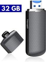 Usb Voice Recorder Spy 32 GB & Uit Te Bereiden Naar 128 GB| Dictafoon voice recorder| Memo Audio Recorder Opname | Voice Recorder usb