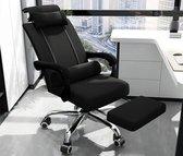Ergonomische Bureaustoel - Bureaustoelen voor volwassenen - Hoofdsteun - Uitschuifbaar voetsteun - Office Chair