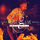GARTH BROOKS - Triple Live   DE LUXE (USA version)