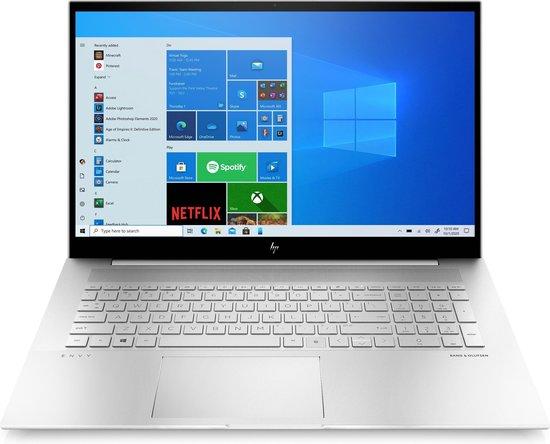 HP 17-ch0011nb - Laptop - 17.3 Inch - Azerty
