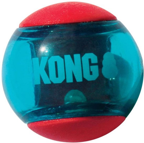 Kong squeez action rood -Small