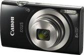 Canon IXUS 185 - Essential Kit - Zwart - met tas