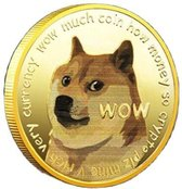Dogecoin - Dogecoin munt - Crypto munt - Bitcoin munt