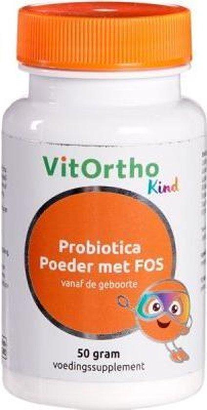 Probiotica Junior Poeder met FOS  (50 gram) - VitOrtho