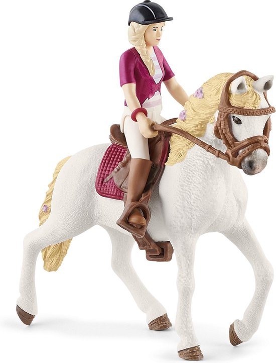 Schleich Horse Club - Paarden Speelgoed Meisjes - Sofia & Blossom