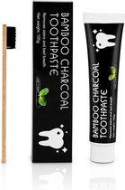 Magic Smile Charcoal tandpasta met Bamboe tandenborstel