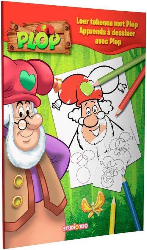 Boek cover Plop : leer tekenen van  (Paperback)
