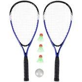 Kinky Pleasure - Tennis Kit - Badminton Set - + Gratis Opbergtas - Blauw