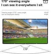 projectie scherm - voor projector - Polyester - Wit - EK - WK 2022 - OLYMPISCHE SPELEN