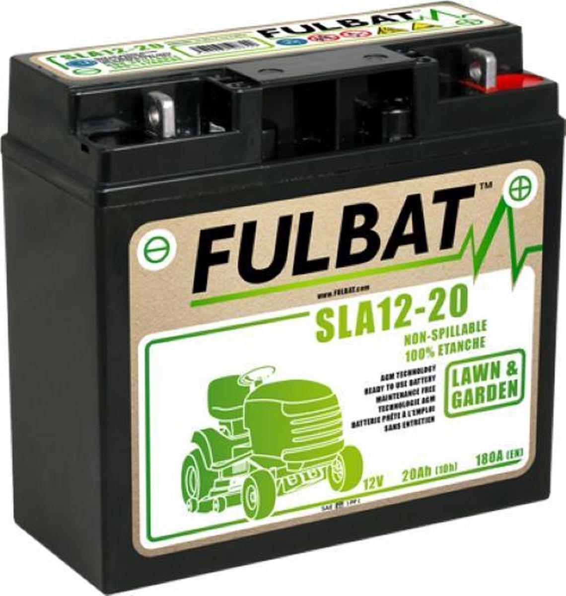 Fulbat/BoParts accu universeel 12V/20Ah