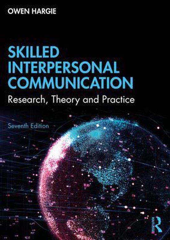 Boek cover Skilled Interpersonal Communication van Owen Hargie (Paperback)