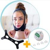 Anti Snurk kinband Pro Max incl. Neusspreiders producten antisnurk - anti snurk kussen - Anti-Snurk Kinband - DeAntiSnurkDr®