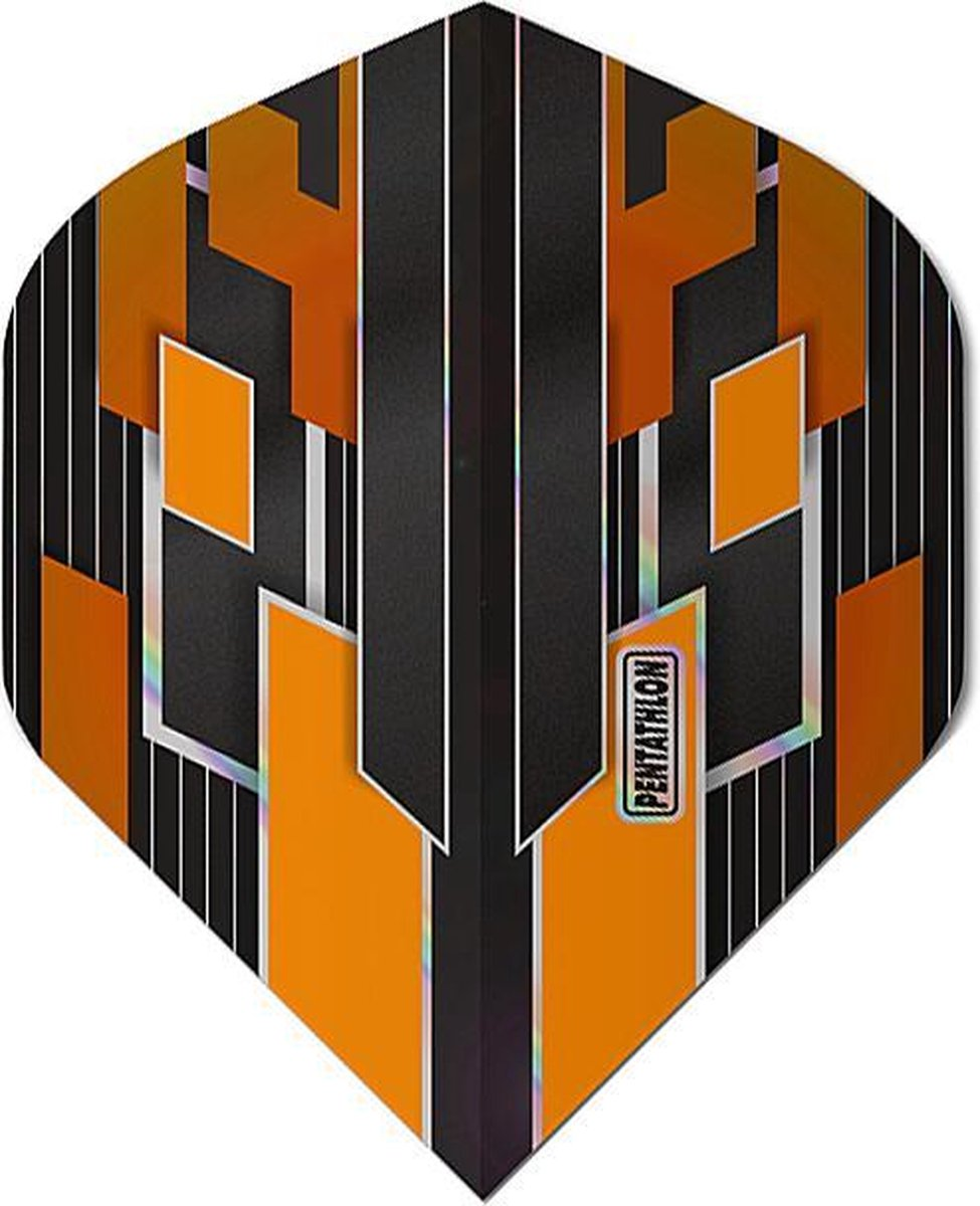 ABC Darts - Pentathlon Dart Flights Shimmers - Oranje - 5 sets