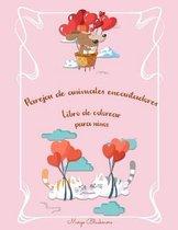 Parejas de animales encantadores Libro de colorear para ninos