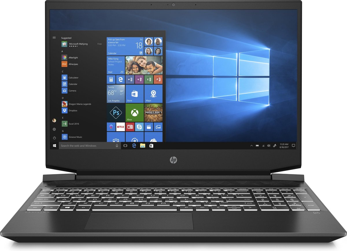 HP Pavilion Gaming 15-ec2737nd - Gaming Laptop - 15.6 Inch