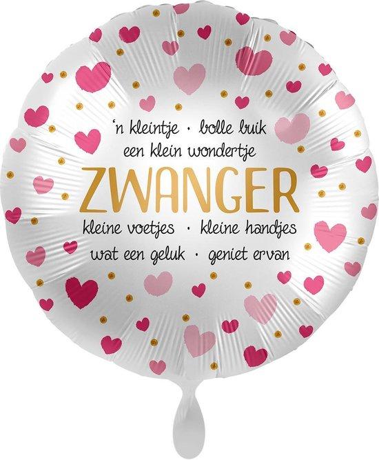Everloon - Folieballon - Zwanger - 43cm - voor oa babyshower